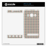 Dwan Abstract  square and triangle pattern Skins For The HTC Evo 4G