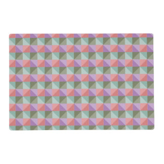 dwan abstract square and triangle placemat