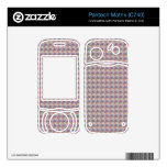 dwan abstract square and triangle pantech matrix decal