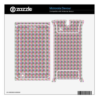 dwan abstract square and triangle motorola devour decal