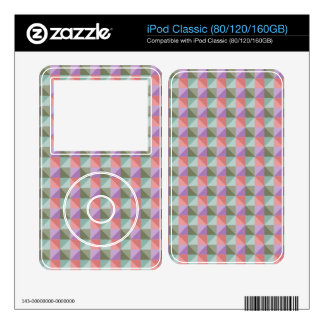 dwan abstract square and triangle decal for the iPod