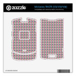 dwan abstract square and triangle skin for motorola RAZR