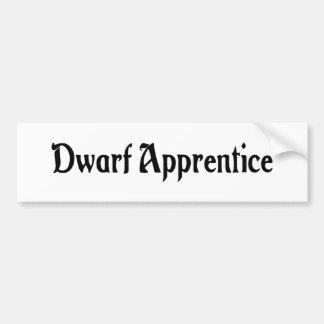 Dwarf Apprentice Bumper Sticker
