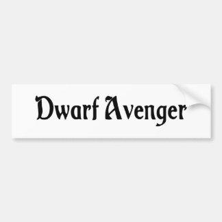 Dwarf Avenger Bumper Sticker