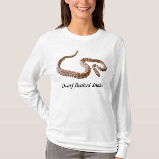 Dwarf Beaked Snake Ladies Long Sleeve T-Shirt
