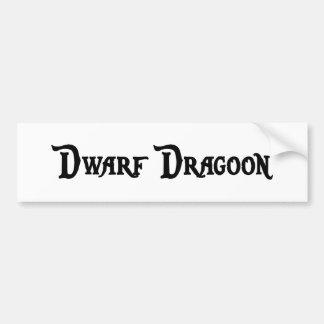 Dwarf Dragoon Bumper Sticker