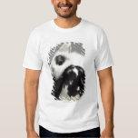 Dwarf-eared rabbit leaning over lop-eared T-Shirt