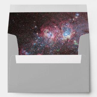 Dwarf Galaxy Inside Envelope