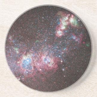 Dwarf Galaxy NGC 4214 Beverage Coaster