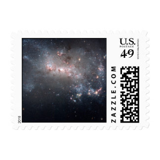 Dwarf Galaxy NGC 4449 Postage Stamps