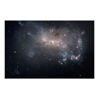 Dwarf Galaxy NGC 4449 Posters