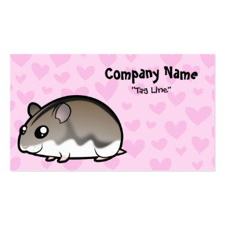 Dwarf Hamster Love Business Card