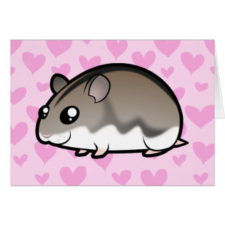 Dwarf Hamster Love Greeting Card