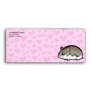 Dwarf Hamster Love Envelope