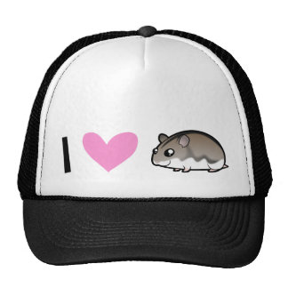 Dwarf Hamster Love Mesh Hats