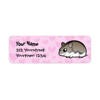 Dwarf Hamster Love Label
