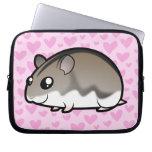 Dwarf Hamster Love Laptop Computer Sleeves