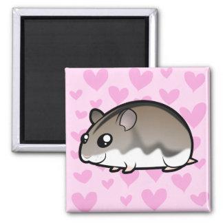 Dwarf Hamster Love Fridge Magnets