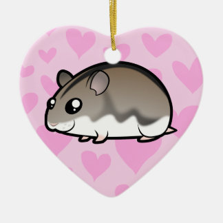 Dwarf Hamster Love Christmas Tree Ornament