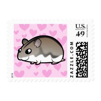 Dwarf Hamster Love Stamps