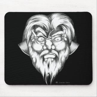 Dwarf Head Mouse Pad