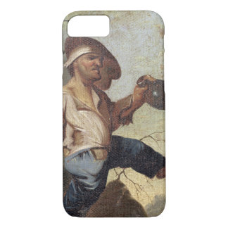 Dwarf Holding a Jug (oil on canvas laid down on pa iPhone 8/7 Case