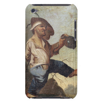 Dwarf Holding a Jug (oil on canvas laid down on pa iPod Touch Case