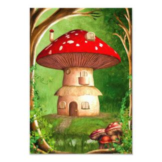 Dwarf Land 3.5x5 Paper Invitation Card