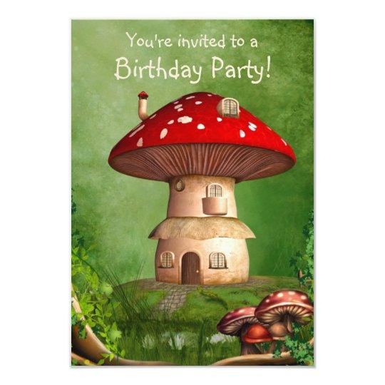 Dwarf Land Kids 3.5x5 Invitation