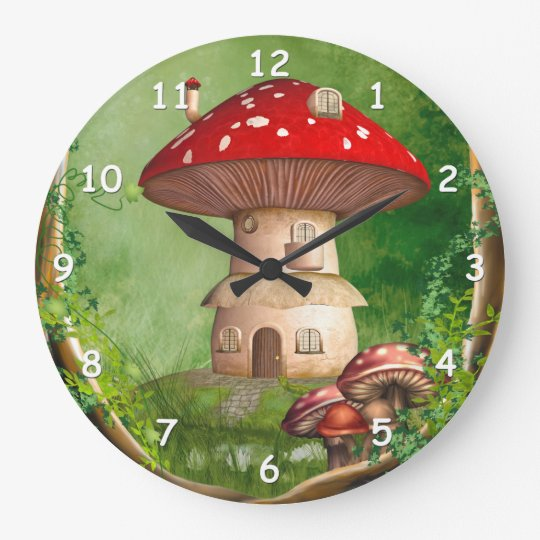 Dwarf Land Round Wall Clock