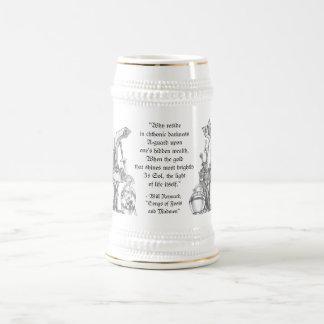 Dwarf Liche King - Mead Cup & Beer Stein