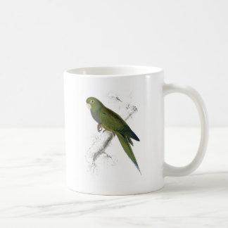 Dwarf Parrakeet-Maccaw by Edward Lear Coffee Mug