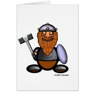 Dwarf (plain) card