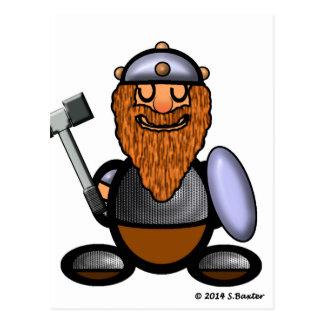 Dwarf (plain) postcard