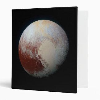 Dwarf Planet Pluto 3 Ring Binder