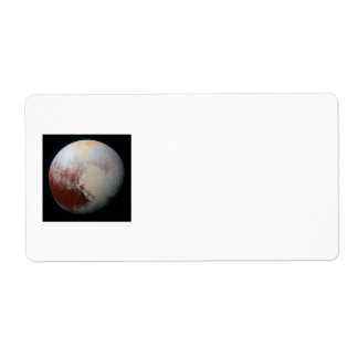 Dwarf Planet Pluto Label
