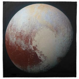 Dwarf Planet Pluto Napkin