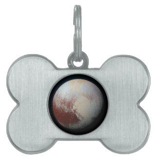 Dwarf Planet Pluto Pet Tag