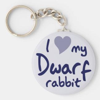 Dwarf rabbit keychain