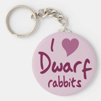 Dwarf rabbits keychain