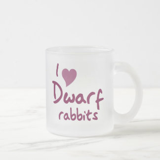 Dwarf rabbits mug