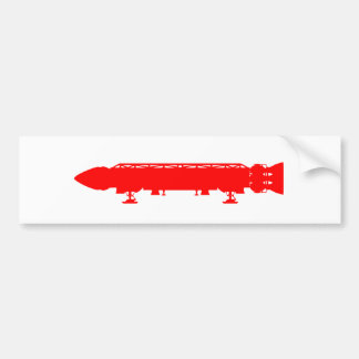 Dwarf Ship Bumper Sticker