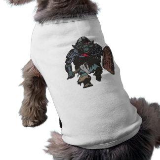 Dwarf warrior warrior dwarf dwarf warrior doggie t-shirt