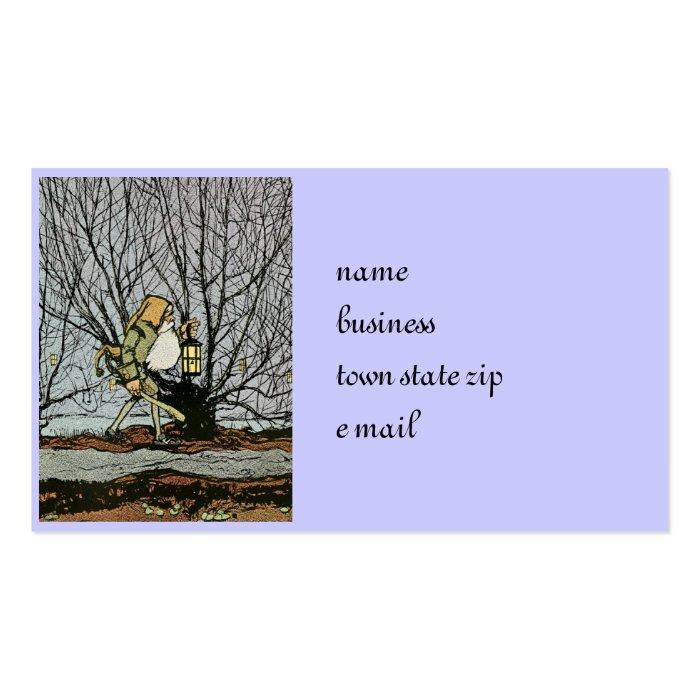 Dwarf with a Lantern Business Card