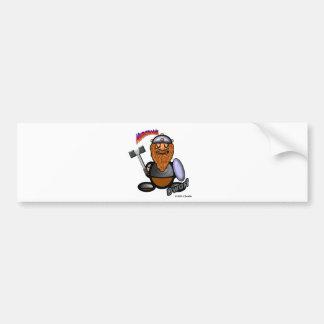 Dwarf (with logos) bumper sticker