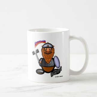 Dwarf (with logos) coffee mug