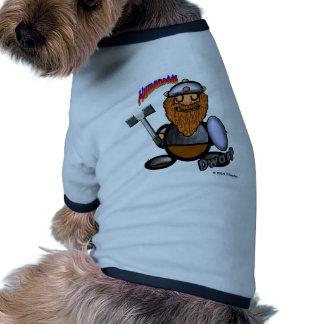Dwarf (with logos) dog tee shirt