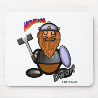 Dwarf (with logos) mouse pad