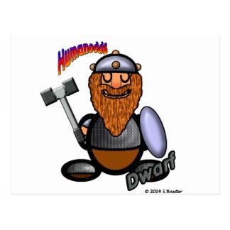 Dwarf (with logos) postcard