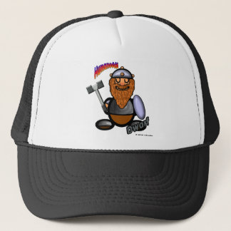 Dwarf (with logos) trucker hat